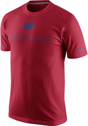 Nike New York Mens Red Traning Day Tee