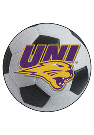Northern Iowa Panthers 27 Soccer Ball Interior Rug