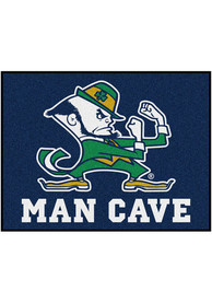 Notre Dame Fighting Irish 34x42 Man Cave All Star Interior Rug