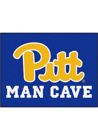 Pitt Panthers 34x42 Man Cave All Star Interior Rug