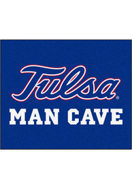Tulsa Golden Hurricanes 60x71 Man Cave Tailgater Mat Other Tailgate