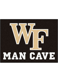 Wake Forest Demon Deacons 34x42 Man Cave All Star Interior Rug
