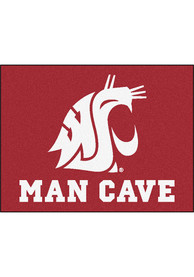 Washington State Cougars 34x42 Man Cave All Star Interior Rug