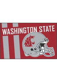 Washington State Cougars 19x30 Uniform Starter Interior Rug