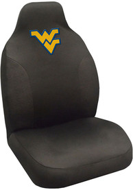 Sports Licensing Solutions West Virginia Mountaineers Team Logo Car Seat Cover - Black