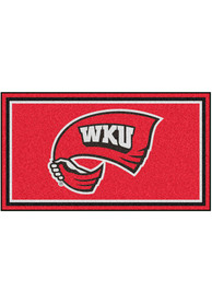 Western Kentucky Hilltoppers 3x5 Plush Interior Rug