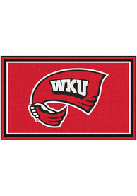 Western Kentucky Hilltoppers 4x6 Plush Interior Rug
