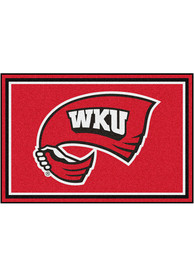 Western Kentucky Hilltoppers 5x8 Plush Interior Rug