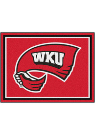Western Kentucky Hilltoppers 8x10 Plush Interior Rug