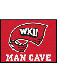 Western Kentucky Hilltoppers 34x42 Man Cave All Star Interior Rug