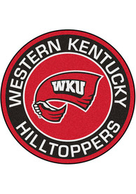 Western Kentucky Hilltoppers 27 Roundel Interior Rug