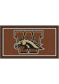 Western Michigan Broncos 3x5 Plush Interior Rug