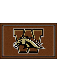 Western Michigan Broncos 4x6 Plush Interior Rug