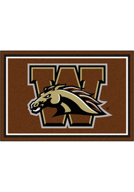 Western Michigan Broncos 5x8 Plush Interior Rug