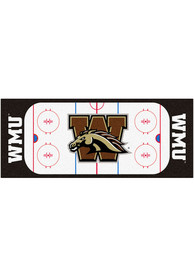 Western Michigan Broncos 30x72 Hockey Rink Runner Interior Rug