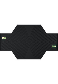 Sports Licensing Solutions Wright State Raiders Motorcycle Car Mat - Black