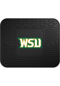 Sports Licensing Solutions Wright State Raiders 14x17 Utility Car Mat - Black