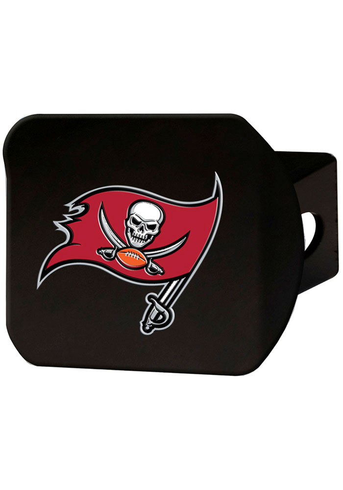 Tampa Bay Buccaneers Color Logo Car Accessory Hitch Cover - Image 1