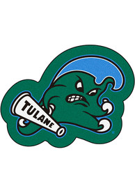 Tulane Green Wave Mascot Interior Rug