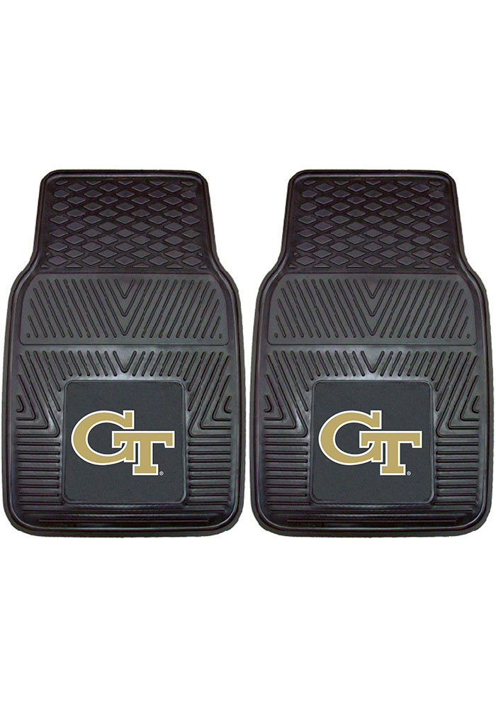 GA Tech Yellow Jackets 18x27 Vinyl Car Mat - Image 1