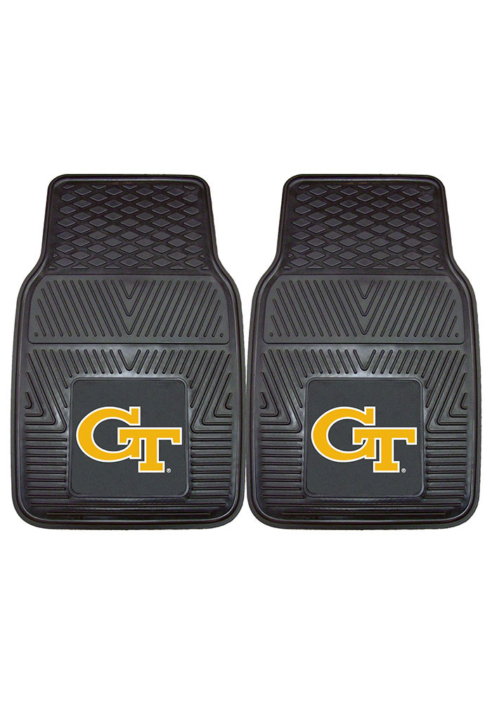 GA Tech Yellow Jackets 18x27 Vinyl Car Mat - Image 2
