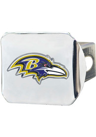 Baltimore Ravens Color Logo Car Accessory Hitch Cover