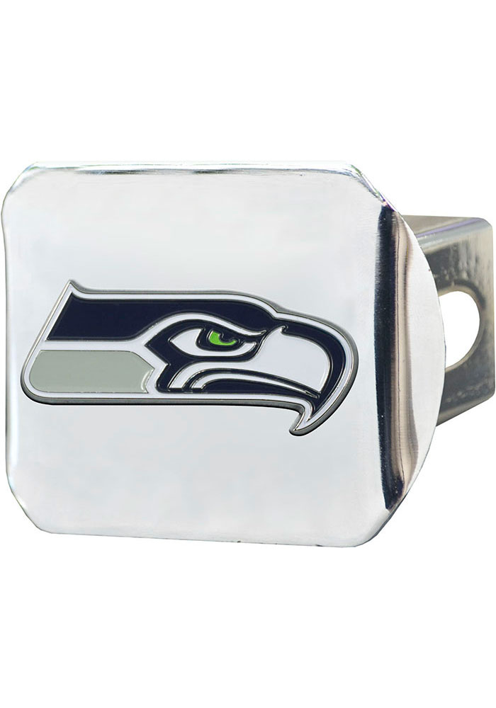 Seattle Seahawks Color Logo Car Accessory Hitch Cover - Image 1