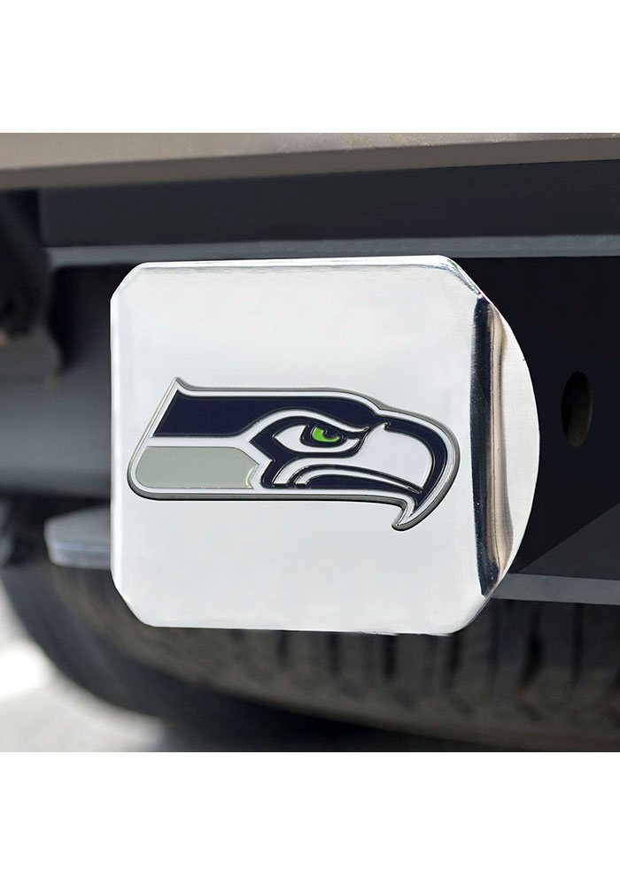 Seattle Seahawks Color Logo Car Accessory Hitch Cover - Image 2