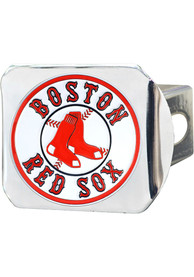 Boston Red Sox Color Logo Car Accessory Hitch Cover