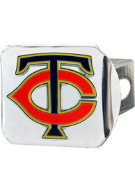 Minnesota Twins Color Logo Car Accessory Hitch Cover