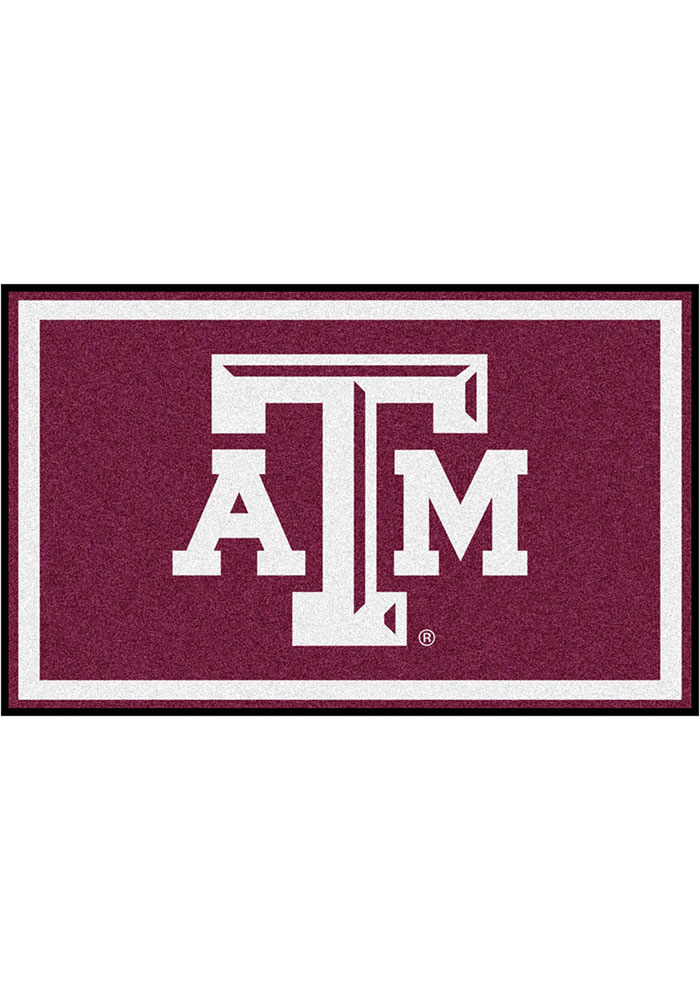Texas A&M Aggies 4x6 Interior Rug - Image 1