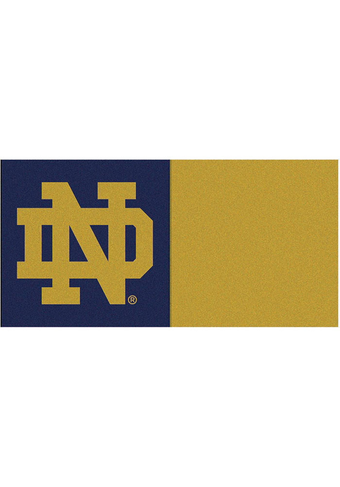 Notre Dame Fighting Irish 18x18 Team Tiles Interior Rug - Image 1