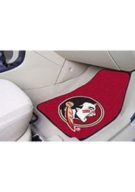 Sports Licensing Solutions Florida State Seminoles 2-Piece Carpet Car Mat - Maroon