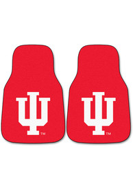 Sports Licensing Solutions Indiana Hoosiers 2-Piece Carpet Car Mat - Red