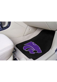 Sports Licensing Solutions K-State Wildcats 18x27 Carpet Car Mat - Black