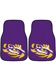 Sports Licensing Solutions LSU Tigers 2-Piece Carpet Car Mat - Purple