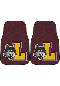 Sports Licensing Solutions Loyola Ramblers 2-Piece Carpet Car Mat - Black