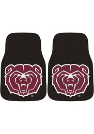 Sports Licensing Solutions Missouri State Bears 2-Piece Carpet Car Mat - Black