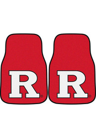 Sports Licensing Solutions Rutgers Scarlet Knights 2-Piece Carpet Car Mat - Red