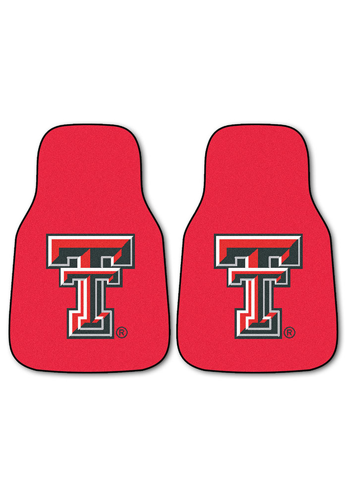 Sports Licensing Solutions Texas Tech Red Raiders 2-Piece Carpet Car Mat - Red - Image 2