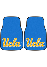 Sports Licensing Solutions UCLA Bruins 2-Piece Carpet Car Mat - Blue
