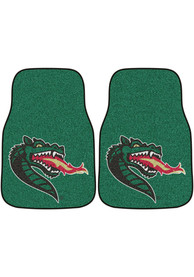Sports Licensing Solutions UAB Blazers 2-Piece Carpet Car Mat - Green