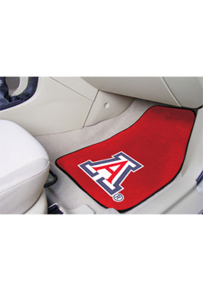 Arizona Wildcats 2-Piece Carpet Car Mat - Image 1