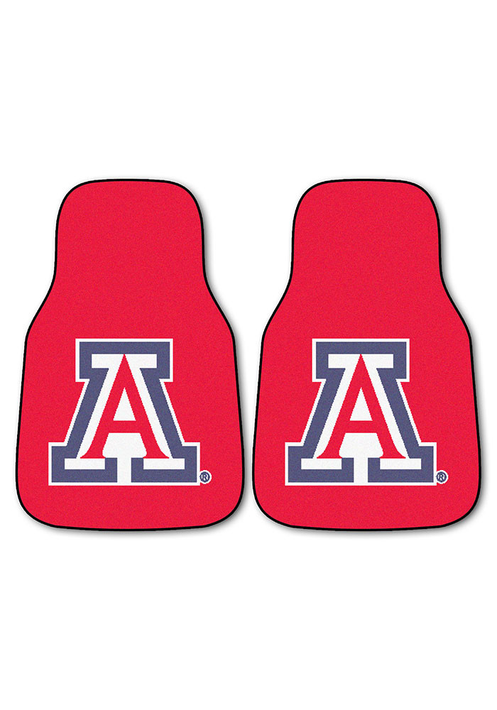 Arizona Wildcats 2-Piece Carpet Car Mat - Image 2