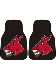 Sports Licensing Solutions Central Missouri Mules 2-Piece Carpet Car Mat - Black