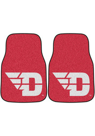 Sports Licensing Solutions Dayton Flyers 2-Piece Carpet Car Mat - Red