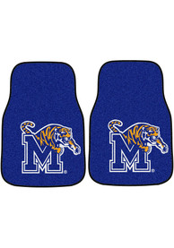 Sports Licensing Solutions Memphis Tigers 2-Piece Carpet Car Mat - Black