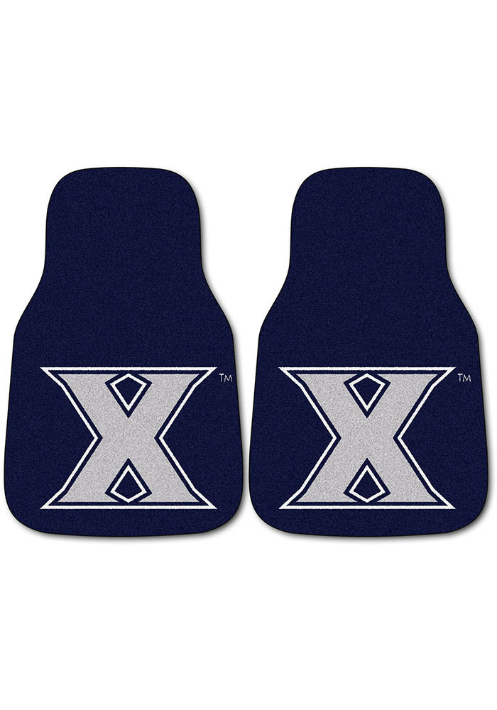 Xavier Musketeers 2-Piece Carpet Car Mat - Image 1