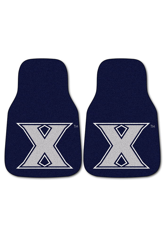 Xavier Musketeers 2-Piece Carpet Car Mat - Image 2