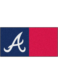 Atlanta Braves 18x18 Team Tiles Interior Rug